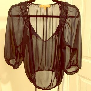 NWOT Sheer Blouse
